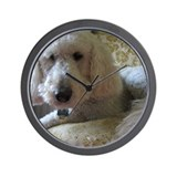 Labradoodle Wall Clocks