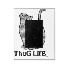 thug life kitty cat kitten Picture Frame