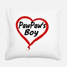 PAWPAWS BOY Square Canvas Pillow