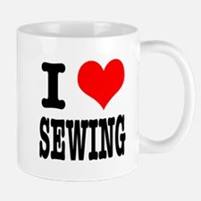 I Heart (Love) Sewing Mug