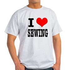 I Heart (Love) Sewing T-Shirt