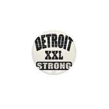 Detroit Strong Mini Button