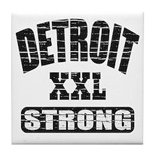 Detroit Strong Tile Coaster