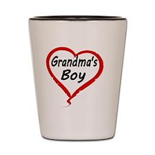 GRANDMAS  BOY Shot Glass