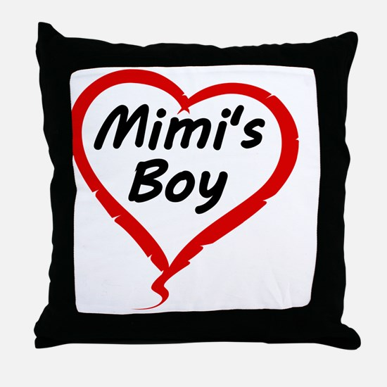 MIMIS BOY Throw Pillow