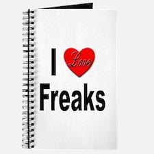 I Love Freaks Journal