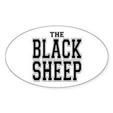 The Black Sheep Oval Decal