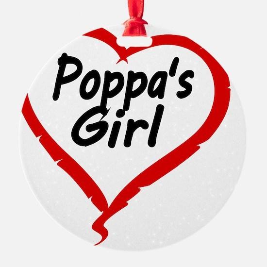 POPPAS  GIRL Ornament