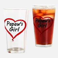 PAPAWS  GIRL Drinking Glass