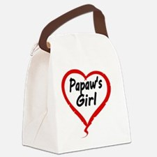PAPAWS  GIRL Canvas Lunch Bag