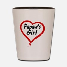 PAPAWS  GIRL Shot Glass