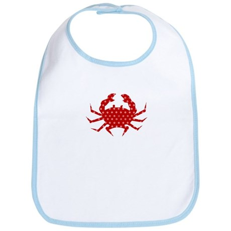 Red Crab Bib