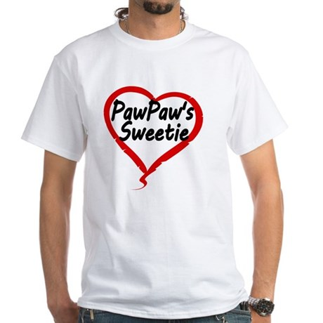 PAWPAWS SWEETIE White T-Shirt