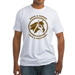 Ride A Malaysian Fitted T-Shirt