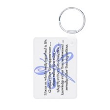 WhatsImportantInLife-10201 Keychains