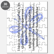 WhatsImportantInLife-102011-flip Puzzle