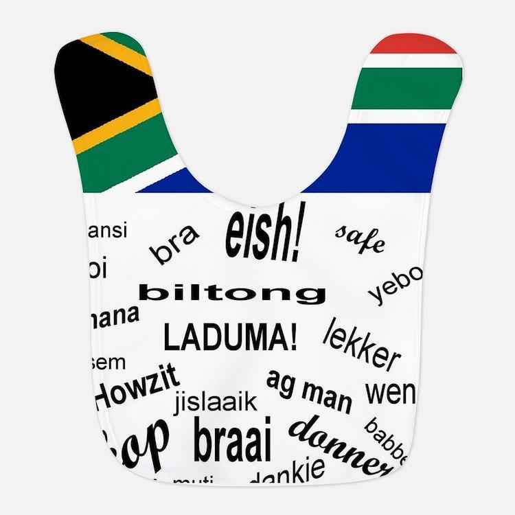 South African Slang Bib
