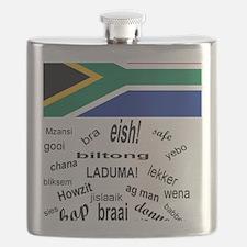 South African Slang Flask