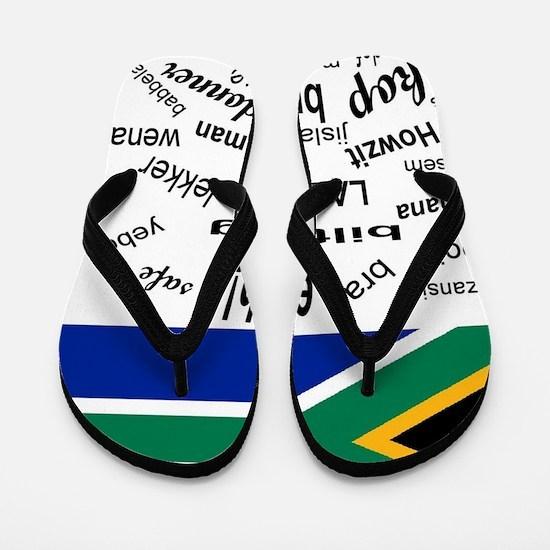 South African Slang Flip Flops