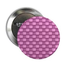 """Pink Plaid with Black 2.25"""" Button"""