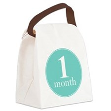 1 Month Canvas Lunch Bag