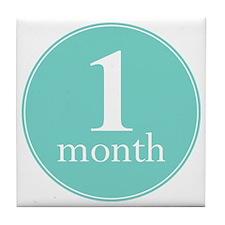 1 Month Tile Coaster