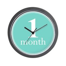 1 Month Wall Clock