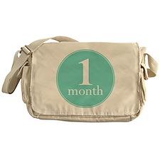 1 Month Messenger Bag