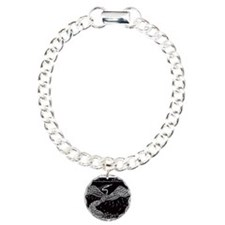 Phoenix Rising Charm Bracelet, One Charm