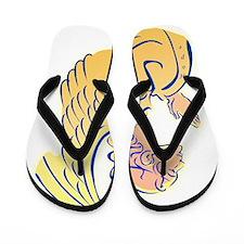 Angel Of Hope Flip Flops