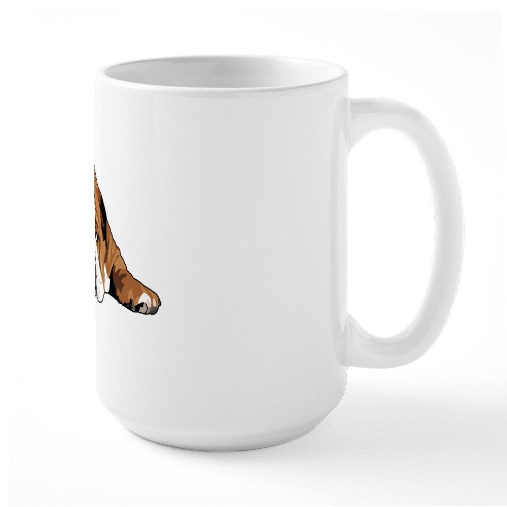 CafePress Teddy the English Bulldog Large Mug