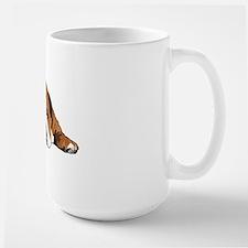 Teddy the English Bulldog Large Mug
