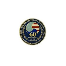 Korea War 60th Anniversary Mini Button