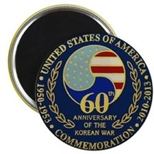 Korea War 60th Anniversary Magnet