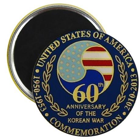 Korea War 60th Anniversary Magnet