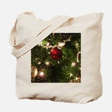Christmas Tree Ornaments Tote Bag