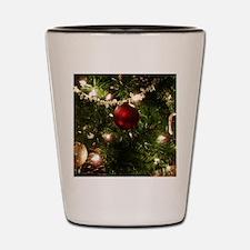 Christmas Tree Ornaments Shot Glass