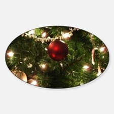 Christmas Tree Ornaments Decal