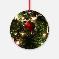 Christmas Tree Ornaments Round Ornament