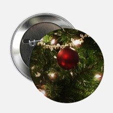 """Christmas Tree Ornaments 2.25"""" Button"""