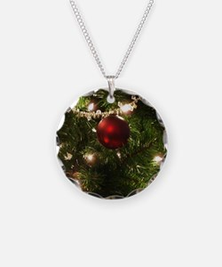 Christmas Tree Ornaments Necklace