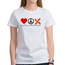 Love Peace and Bacon Grease Tee