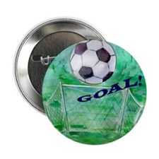"Soccer Goal 2.25"" Button"
