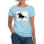 Horse Rider. Sexy Woman Women's Light T-Shirt
