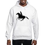 Horse Rider. Sexy Woman Hooded Sweatshirt