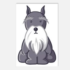 Andy Roony Schnauzer with Postcards (Package of 8)