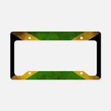 Jamaica Flag License Plate Holder