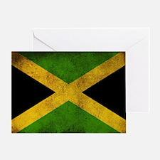Jamaica Flag Greeting Card