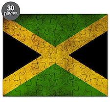 Jamaica Flag Puzzle