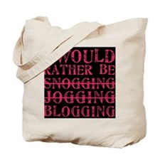 Rather be blogging Tote Bag
